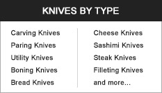 Knives by Type
