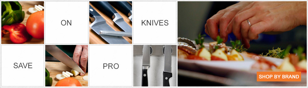 Shop professional knives by brand
