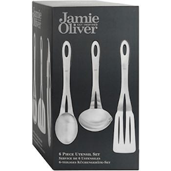 Jamie Oliver 6 Piece Utensil Set Kitchen Samurai Chef S Knives